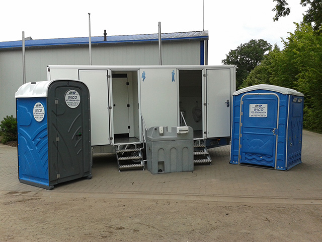 Toilettenwagen in Rethem