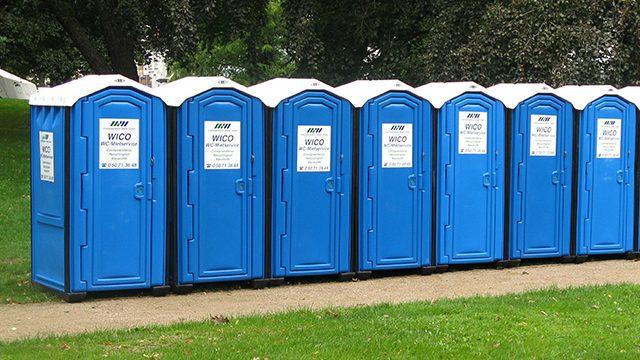 Toilettenkabinen in Ganderkesee