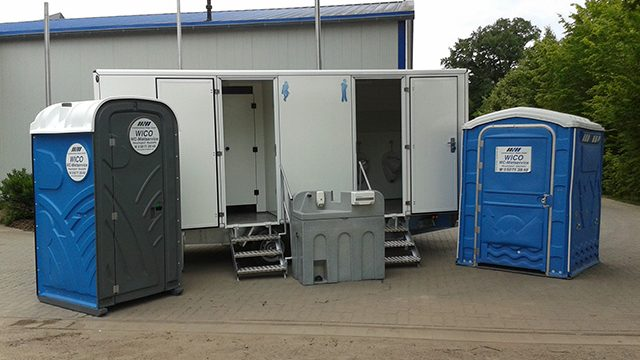 Toilettenwagen in Petershagen